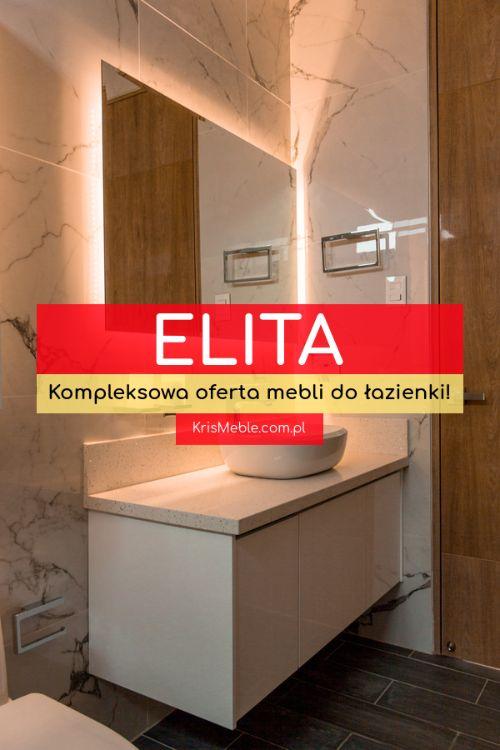 meble łazienkowe Elita