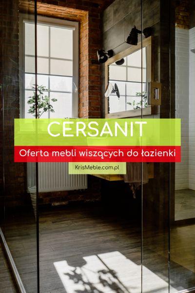 szafki wiszące Cersanit